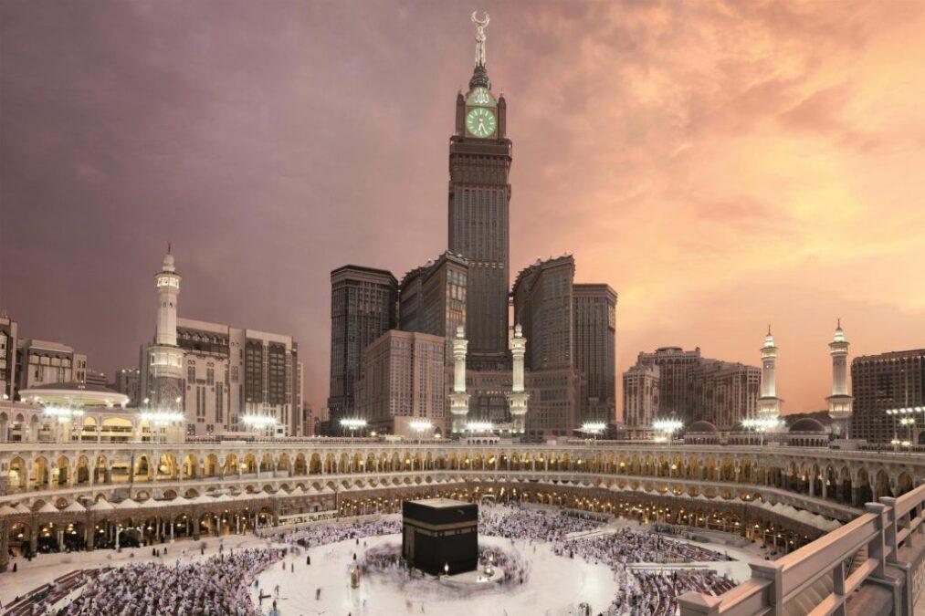dünyanın en yüksek binaları listelist Abraj Al Bait Clock Tower Ebrac el Beyt