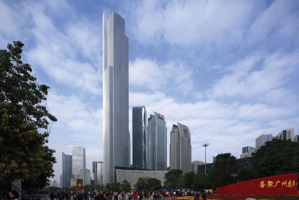 Guangzhou Chow Tai Fook Finance Center dünyanın en yüksek binaları listelist