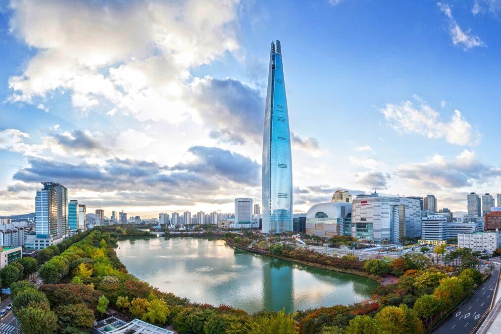 Lotte World Tower dünyanın en yüksek binaları listelist