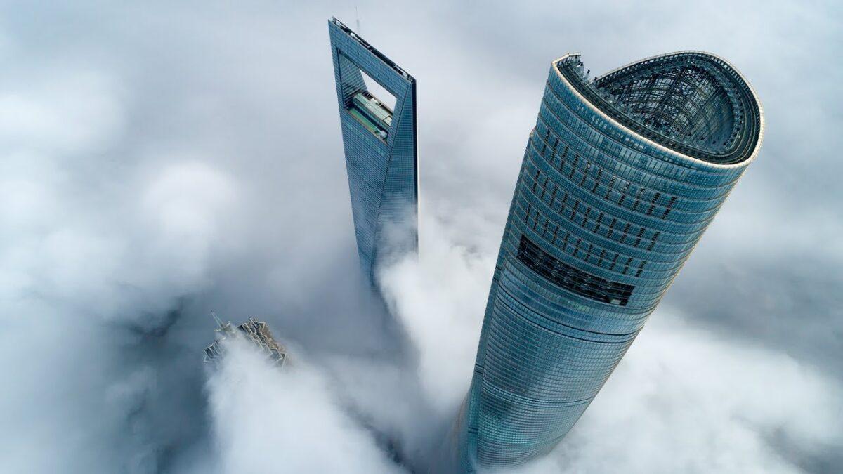 Şanghay Kulesi Shanghai Tower dünyanın en yüksek binaları listelist