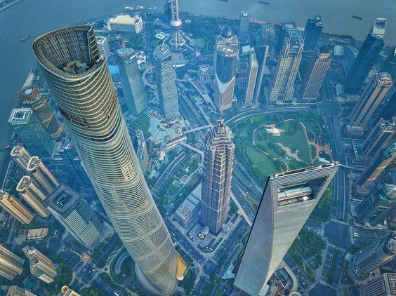 Shanghai World Financial Center dünyanın en yüksek binaları listelist