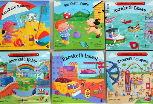 Hareketli Serisi en iyi çocuk kitapları listelist