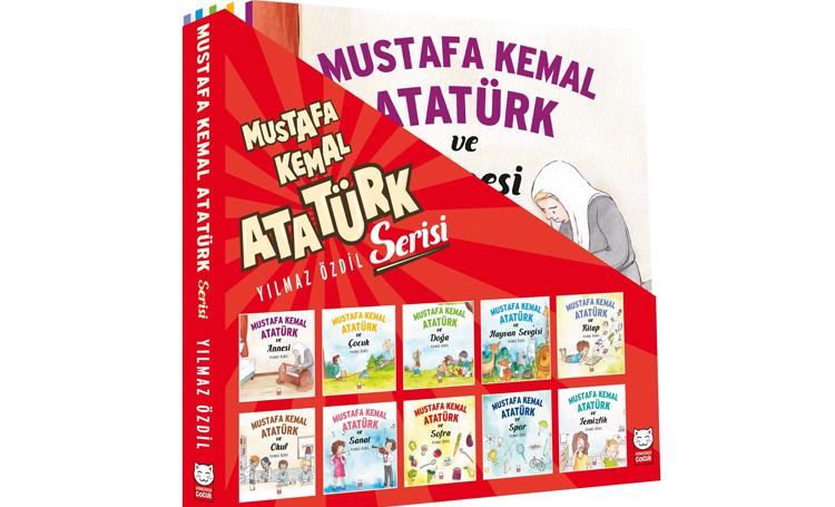 Mustafa Kemal Atatürk serisi 10 kitap yılmaz özdil en iyi çocuk kitapları listelist