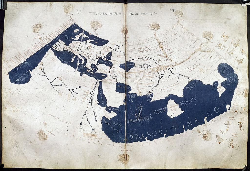 İlk dünya haritası