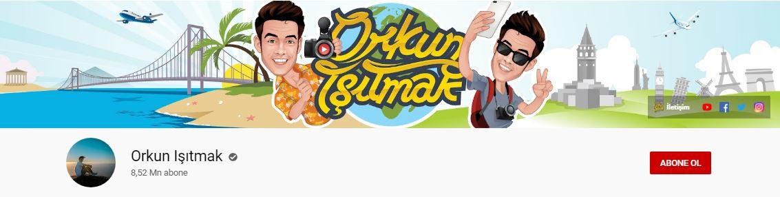Youtube'da en fazla takipçisi olan Türkler