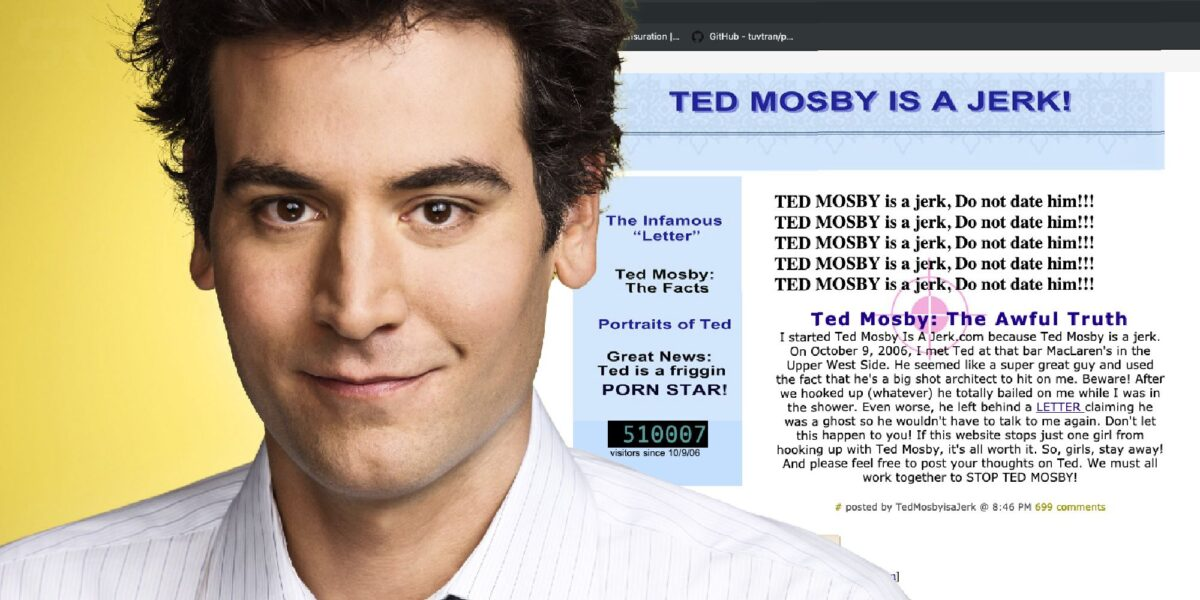 how i met your mother web siteleri ted mosby listelist
