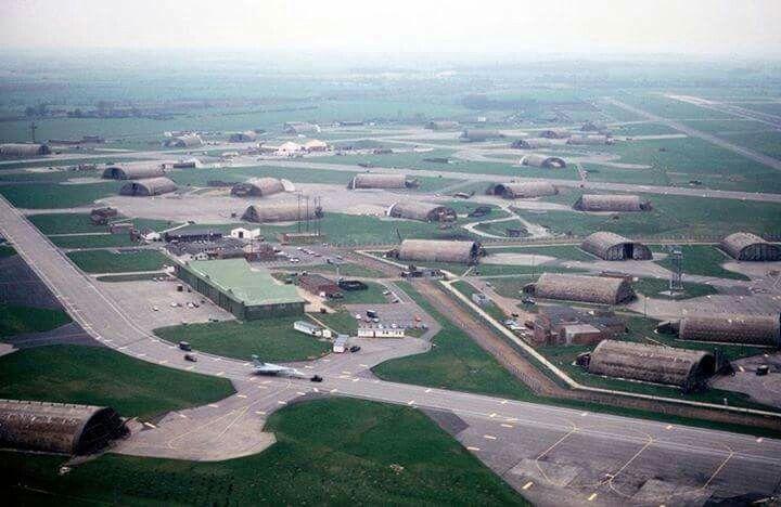 RAF Upper Heyford – Oxfordshire, İngiltere