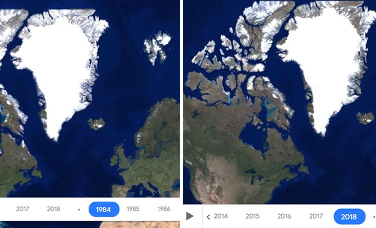 ilginç web siteleri ilginç internet siteleri listelist Google Earth Engine Timelapse