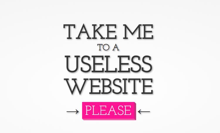 ilginç web siteleri ilginç internet siteleri listelist The Useless Web