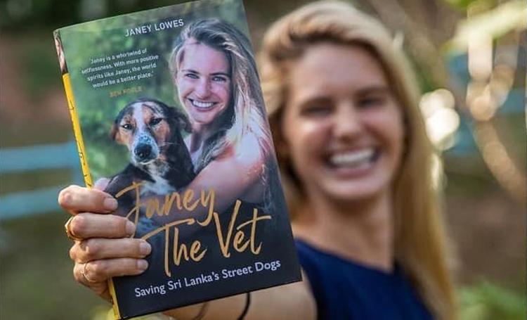 janey lowes kitap hayvansever sri lanka ingiltere wecare worldwide sokak köpeği listelist