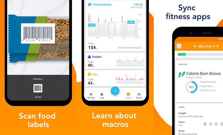 Calorie Counter by Lose It telefon sağlık uygulamaları listelist