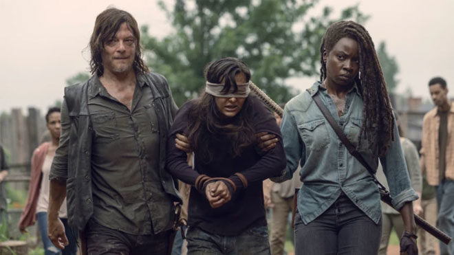 The Walking Dead bol ödüllü diziler listelist