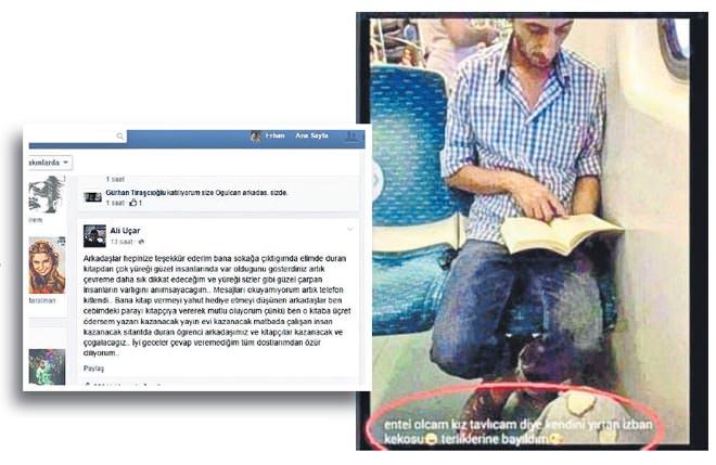 ali uçar terlik metro izban izmir keko facebook paylaşımı listelist