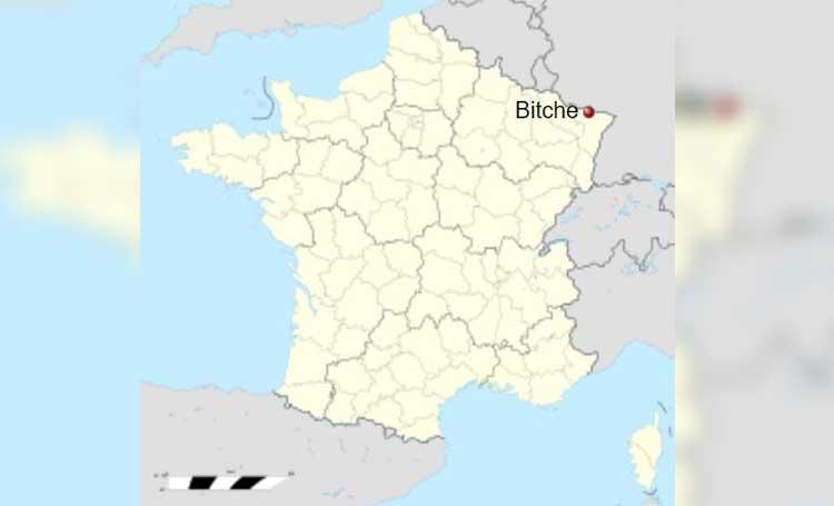 Grand Est moselle fransa bitche kasabası listelist