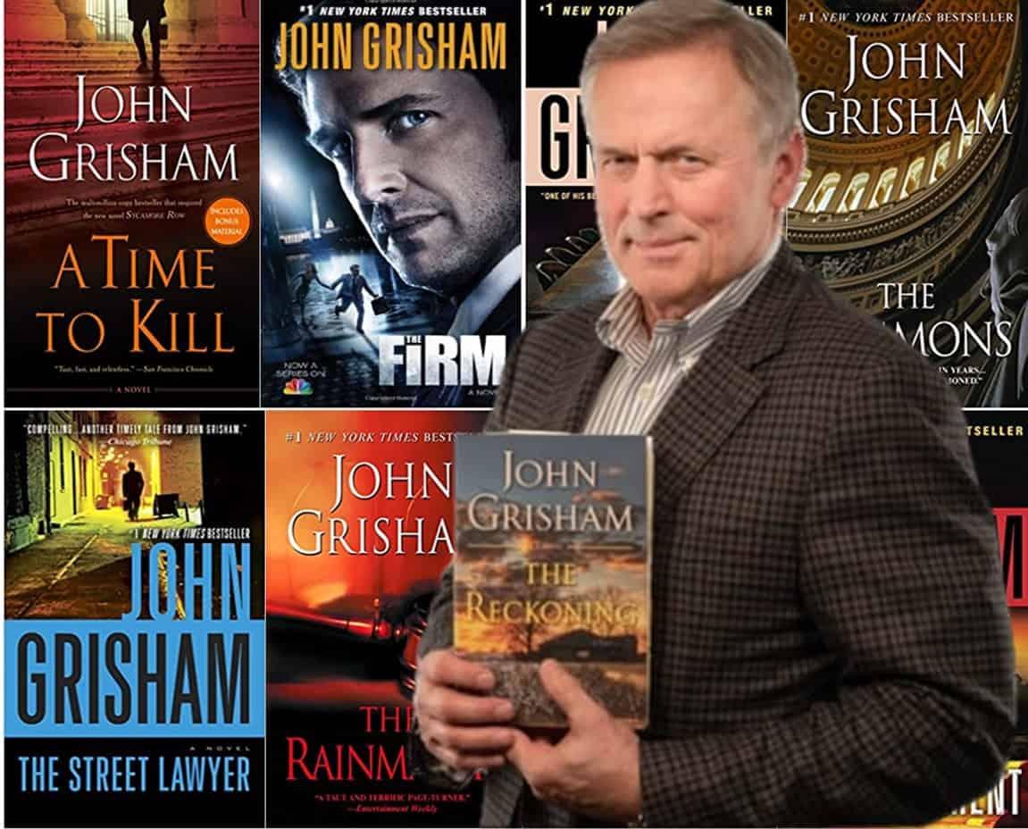 John Grisham en çok kazanan yazarlar listelist
