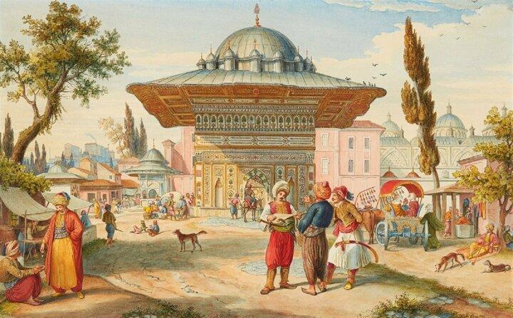 osmanlı cami avlusu sergi bayram gelenekleri adetleri listelist