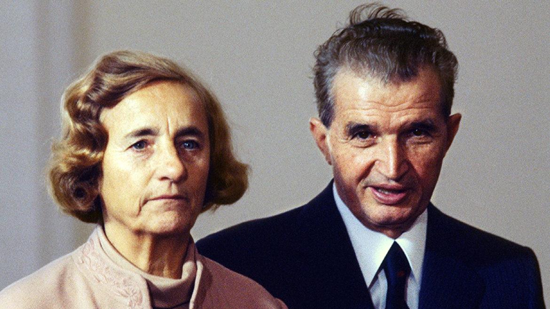 Nikolay Çavuşesku ve elena Çavuşesku