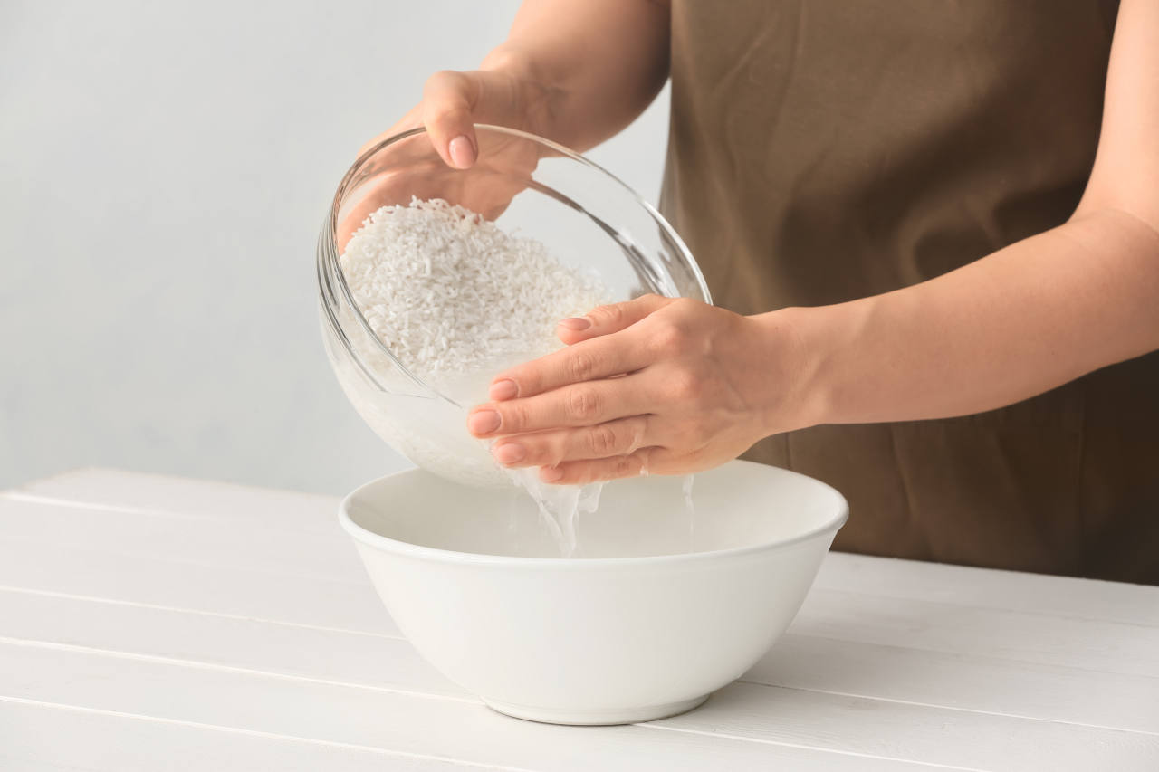 pirinç suyu