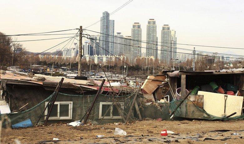 Güney Kore'de gelir eşitsizliği